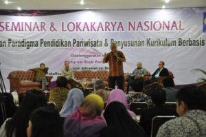Direktur Pengembangan Wisata Minat Khusus Kemenpar RI Akhyaruddin Jusuf