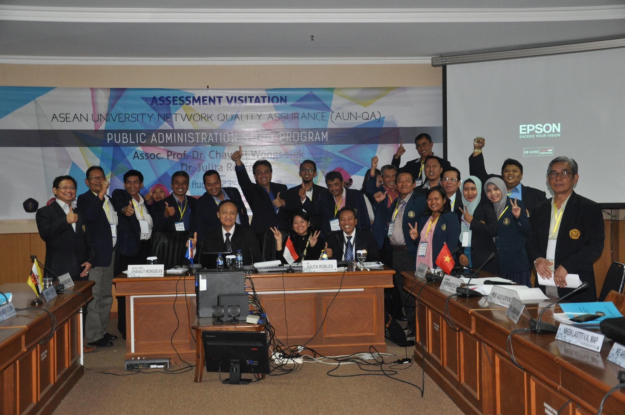 Visitasi AUN-QA Untuk Program Studi Ilmu Administrasi Publik