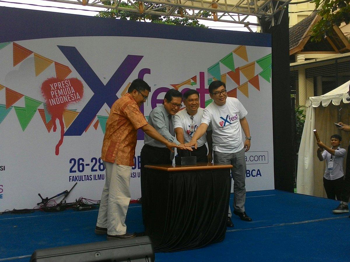 Meriah, X-Fest Kerjasama FIA UB Dengan BCA Dan Marketeers