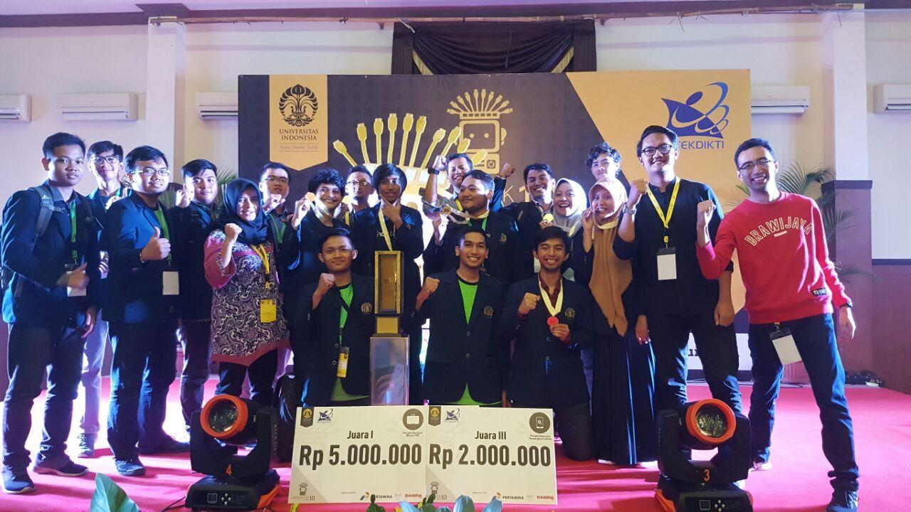 Kompetisi Nasional Kemenristekdikti, Tim Mahasiswa FIA UB Sabet Juara Pertama
