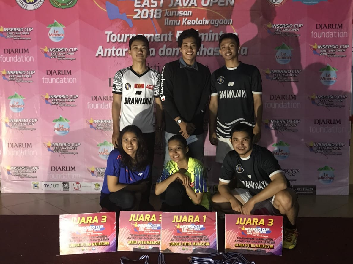Atlet UB Dalam Inersio Cup East Java Open 2018