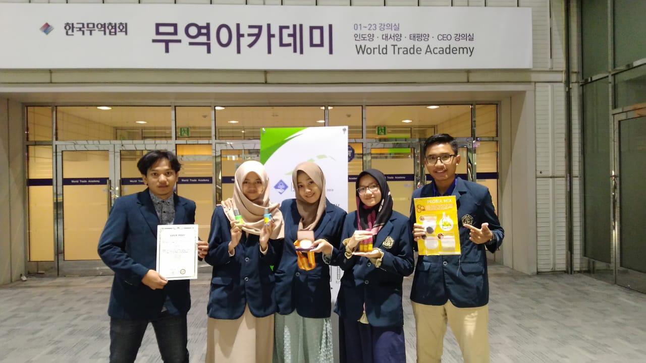 Delegasi UB Lintas Jurusan Raih Gold Prize Ajang SIIF 2018