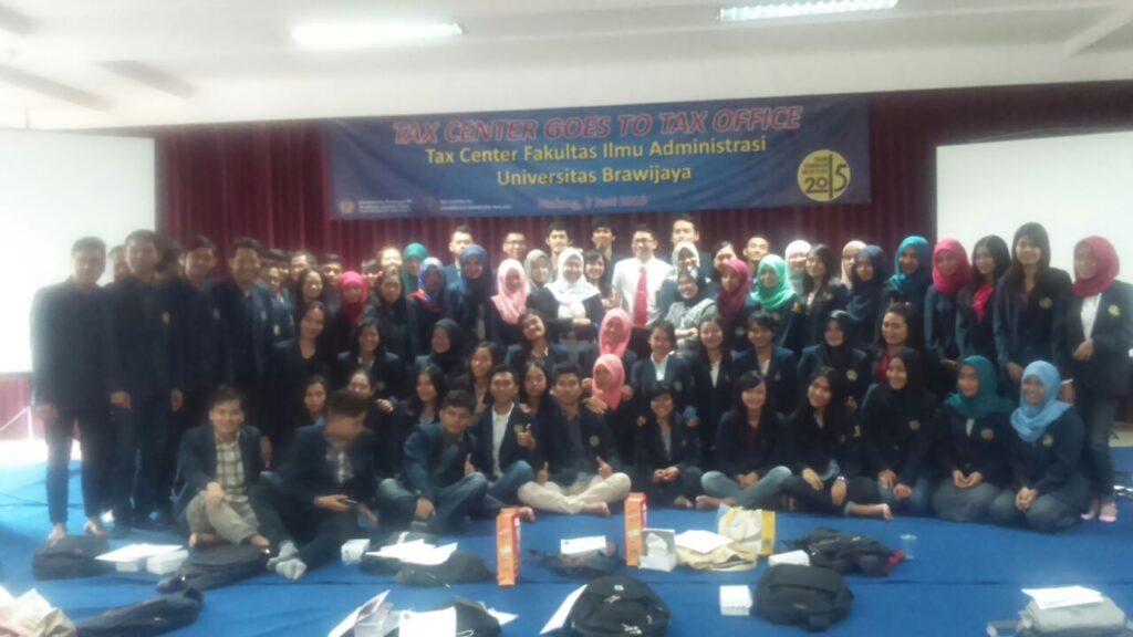 Mahasiswa Perpajakan Kunjungi KPP