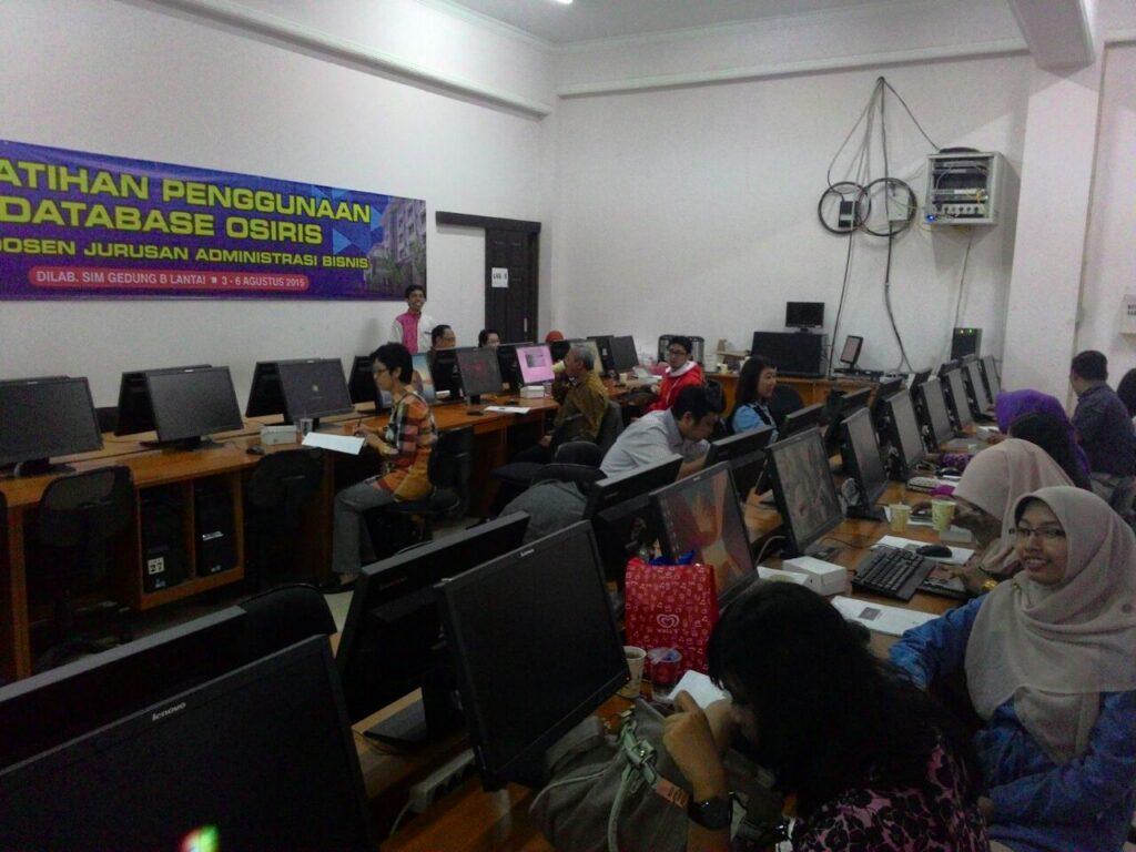 Suasana Pelatihan OSIRIS