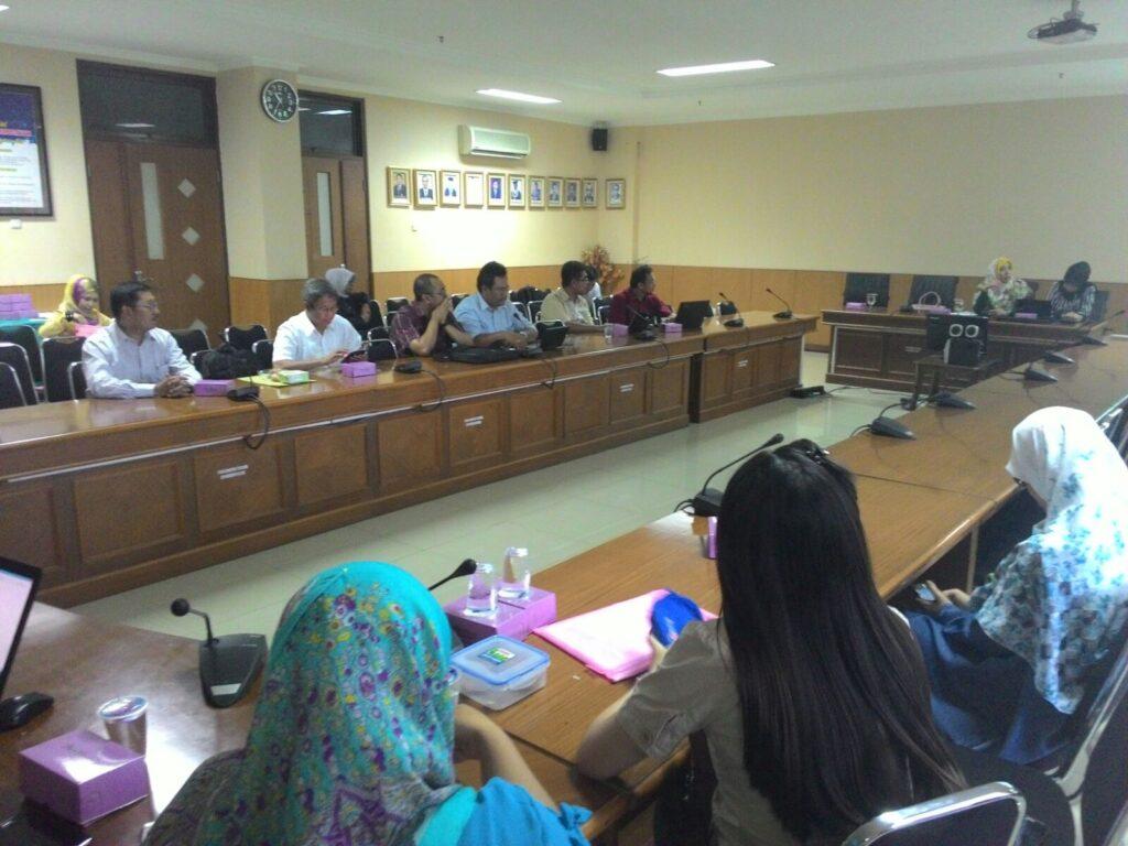Suasana pelatihan penulisan jurnal internasional