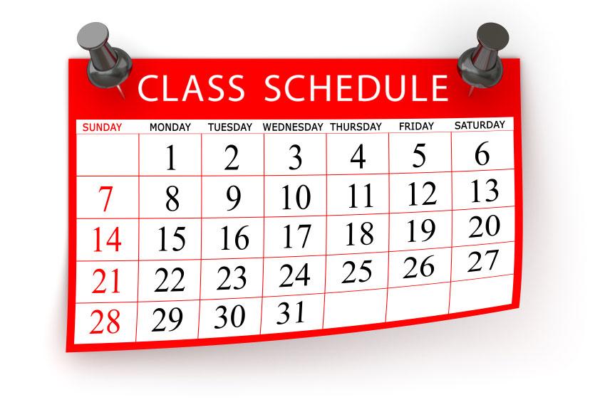 Jadwal Kuliah Semester Pendek Tahun Akademik 2015/2016