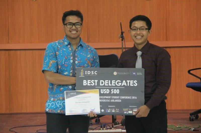 Muhammad Mufli Best Delegate