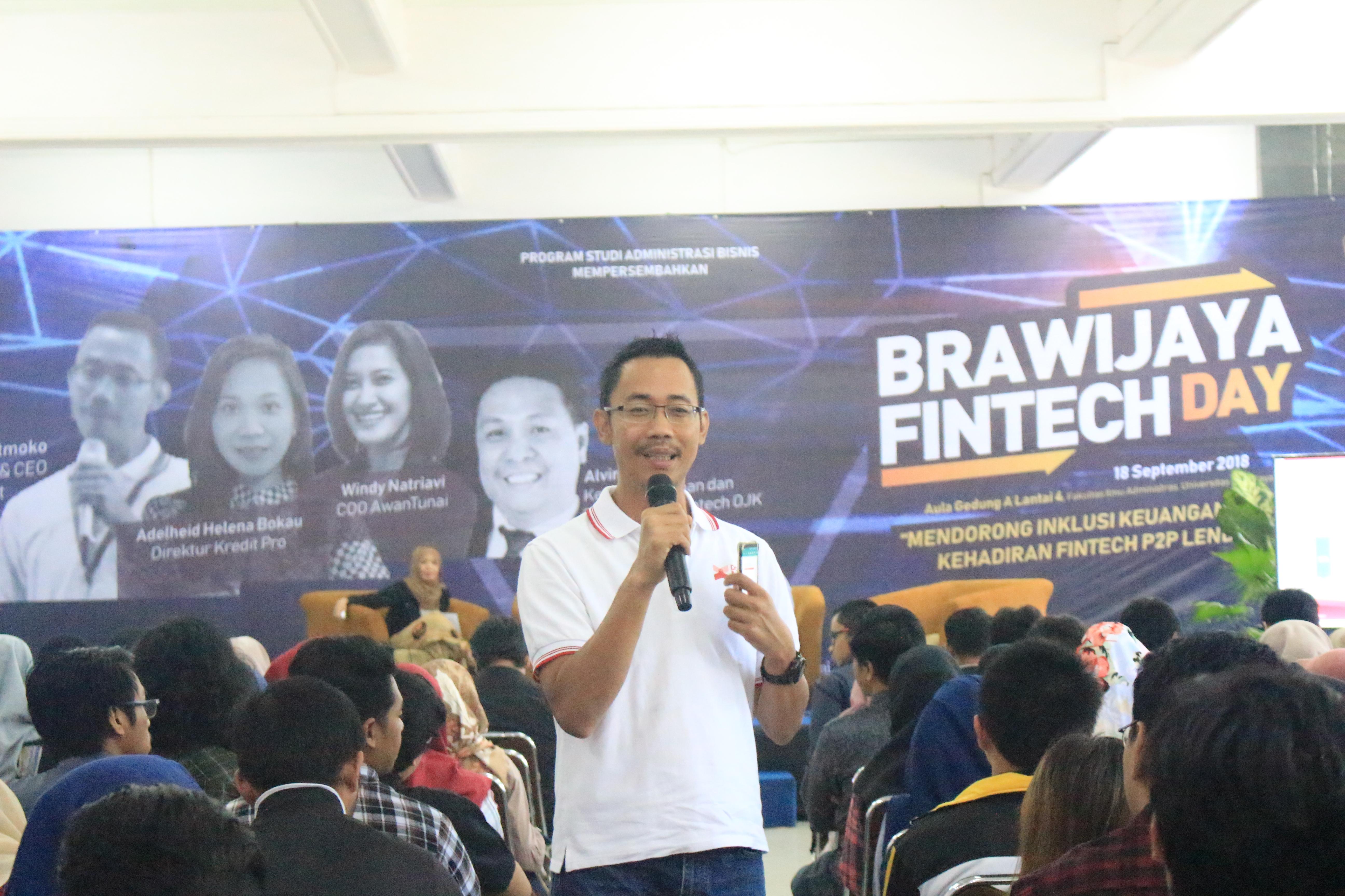 Kenalkan Inklusi Keuangan Berbasis Teknologi Dalam Brawijaya Fintech Day