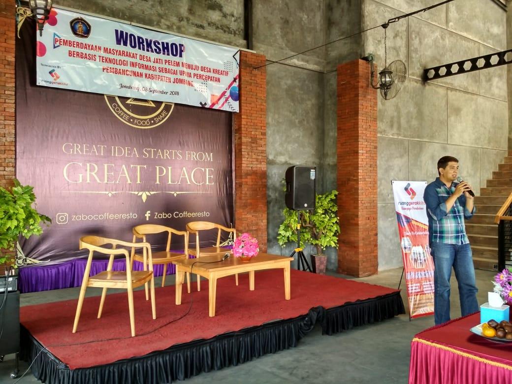 Pemberdayaan Masyarakat Desa Jati Pelem Menuju Desa Kreatif