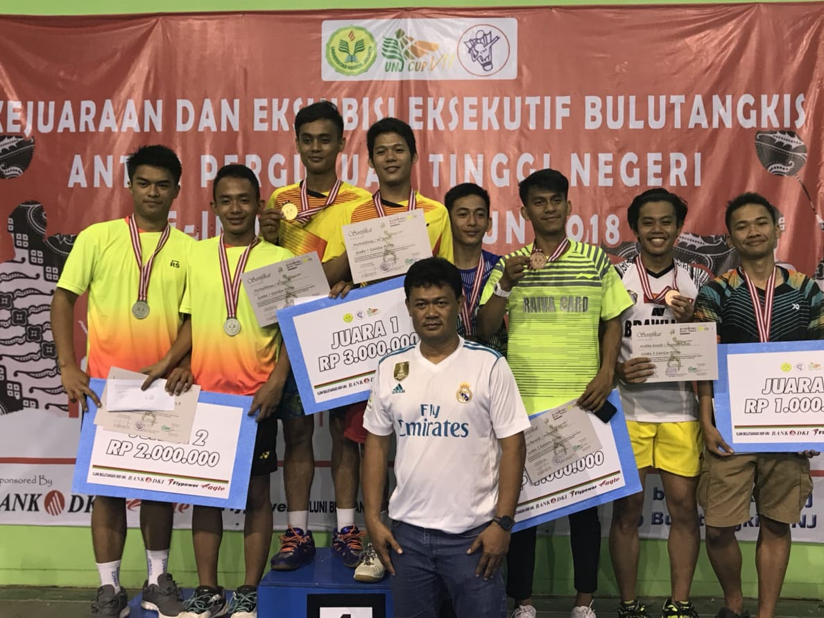 Mahasiswa FIA Borong Piala UNJ Cup